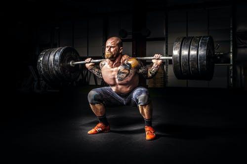 Bodybuilden-gewicht-heffen